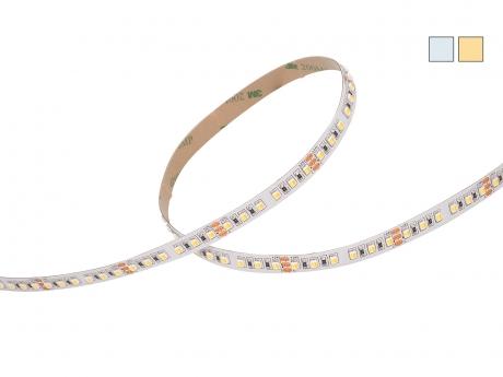 DUAL LED Stripe CCT 24Vdc 17W/m 1.760lm/m 120LEDs/m