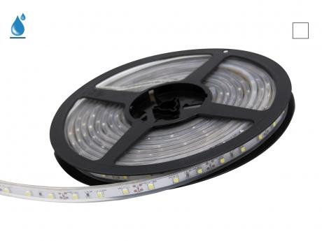 LED Stripe neutralweiß 12Vdc 4W/m 330lm/m 60LEDs/m IP67 5,0m