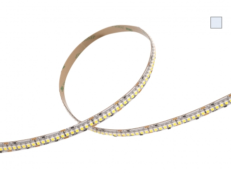 Restposten: LED Strip kaltweiß 24Vdc 19W/m 1600lm/m 240LED/m 5,0m