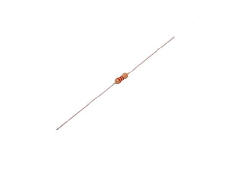 Widerstand 220 Ohm 1/4 Watt axiale Bauform