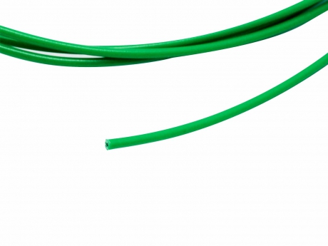 1m Einzellitze / -ader / -draht grün 0,5mm² verzinnt