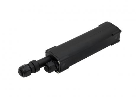 LED Trafobox -wasserdicht- IP67 schwarz
