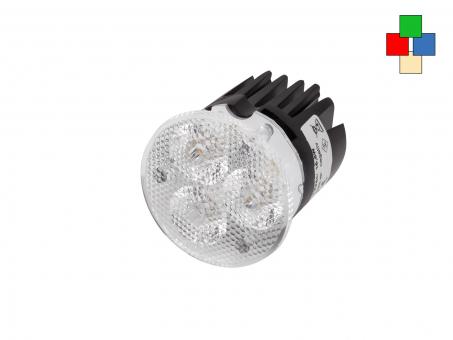 LED Spot Multicolor 12Vdc RGB-WW 617lm, 16,8W