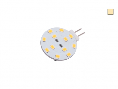 G4 LED dimmbar 12 LEDs 10-30Vdc warmweiß