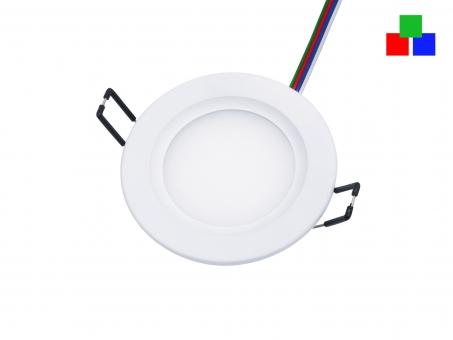 LED Deckenleuchte Monaco S2 95mm rund 24Vdc RGB LED Panel