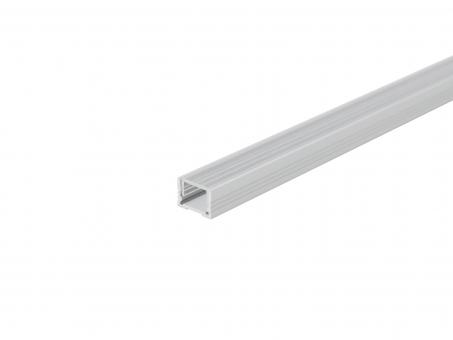 Alu U-Profil 13mm XXLine Classic si mit Abd 3,0m opalweiß opalweiß | 3,0m