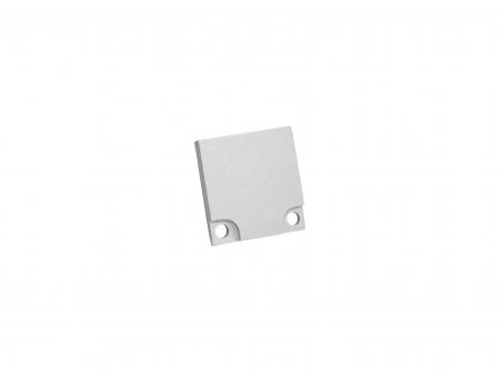 Endkappe LED Aluminium Profil XXLine High, Aluminium