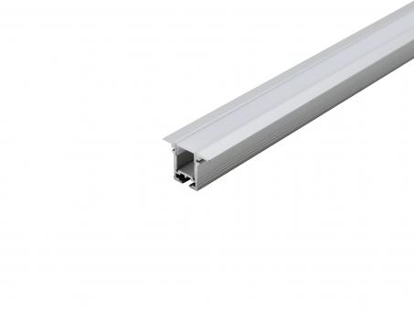 Alu T-Profil 20mm XXLine High T si mit Abd transparent 1,0m transparent | 1,0m