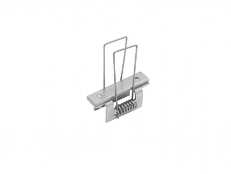 Montagehalterung Spannfeder für Alu T-Profil XXLine High T
