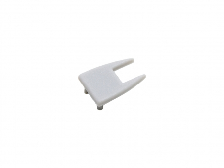 Endkappe LED Alu Glaskantenprofil AL-PU3 Kunststoff