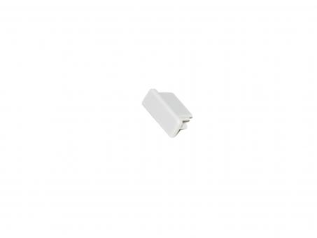Endkappe LED Alu U-Profil AL-PU4 Kunststoff grau