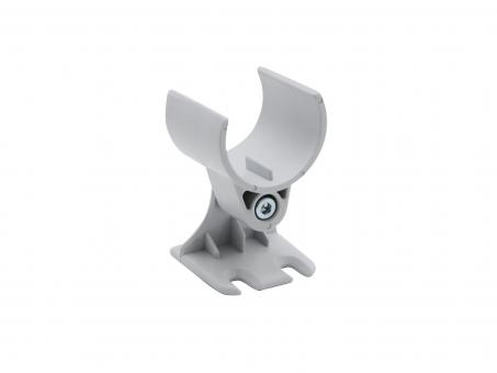 Montageklammer für LED Alu Rund-Profil drehbar, Kunststoff