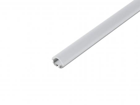 LED Alu Kühlprofil edge-line1 Eck 1,0m transparent 90° Linse transparent 90° Linse | 1,0m
