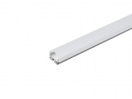 LED Alu Kühlprofil edge-line2 2,0m transparent 60° Linse transparent 60° Linse | 2,0m