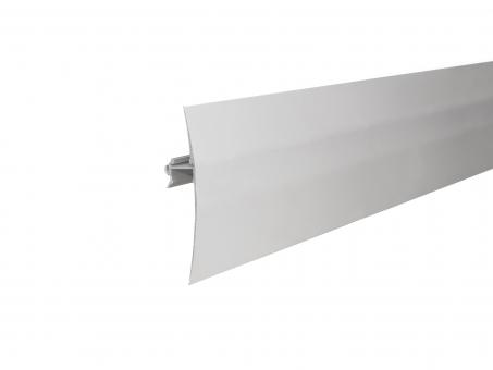 LED Alu Wandsegel si mit Abdeckung/Schiene 1,0m opalweiß groß opalweiß | 1,0m | groß