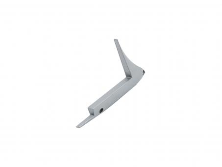 Endkappe rechts Alu-Treppenstufenprofil B2 ohne Kabeldurchg Alu