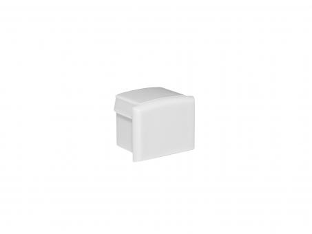 Endkappe für Alu Kühlprofil AL-PU6 Kunststoff ohne Kabeldurchgang
