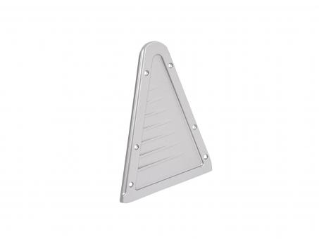 Endkappe LED Alu Triangelprofil li ohne Kabeldurchgang Alu