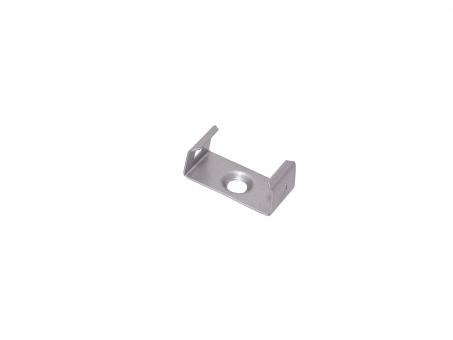 Montageklammer für LED Alu U-Profil Slim XL 8mm Kunststoff