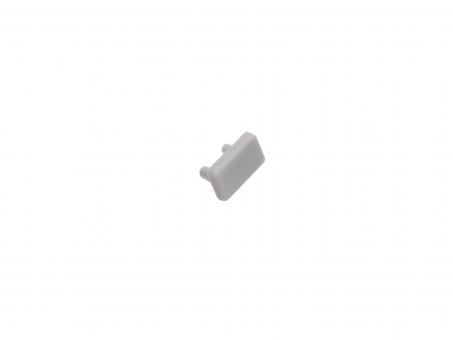 Endkappe LED Alu U-Profil AL-PU2 7mm Kunststoff grau grau