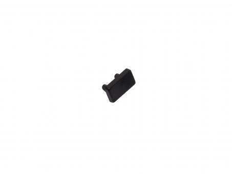 Endkappe LED Alu U-Profil AL-PU2 7mm Kunststoff schwarz schwarz