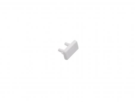 Endkappe LED Alu U-Profil AL-PU2 7mm Kunststoff weiß weiß