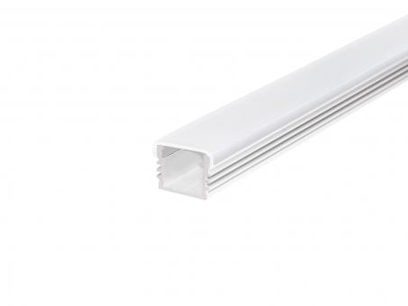 LED U-Profil AL-PU7 17mm mit opalw. Abdeckung 2,0m