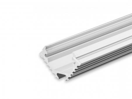Alu Eckprofil AL-PU60 45-Grad silber 2m