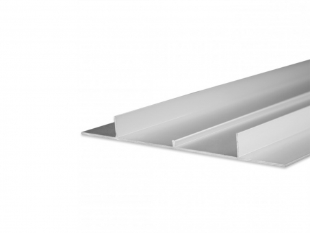 LED Alu Trockenbauprofil AL-PU46 silber 2m