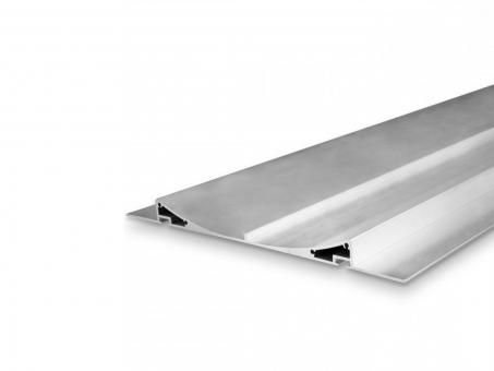 LED Alu Trockenbauprofil AL-PU47 silber 2m