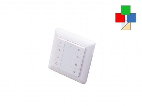 TRELIGHT Vega RGB-Dual LED Funk Wandtaster comfort