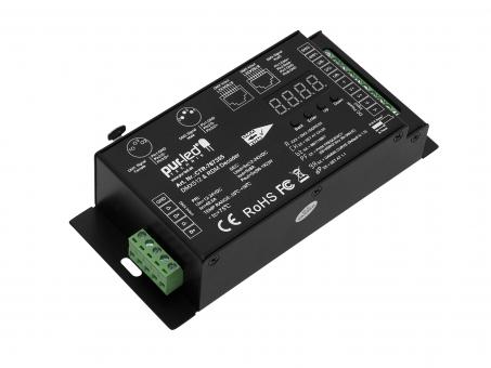 LED Dimmer RDM DMX512 RGB-Dualweiß 12-24Vdc 5x8A
