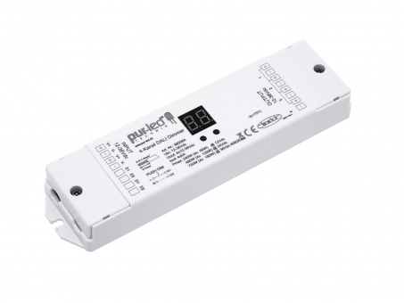 LED Dimmer DALI DT6 RGB(W) 12-36Vdc 4x5A mit Tastereingang
