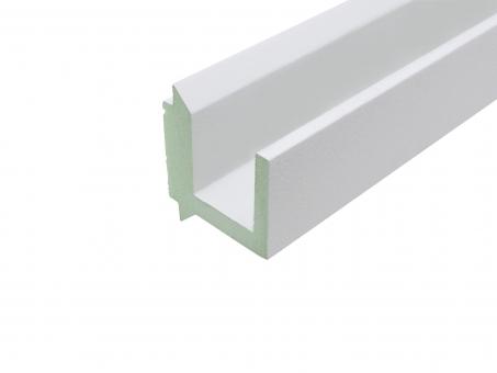 LED Stuckleiste 2 für flexible LED Stripes 1180mm