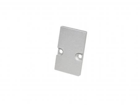 Endkappe LED Alu H-Montageprofil, Aluminium