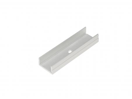 LED Montageschiene für LED Alu H-Montageprofil, Aluminium