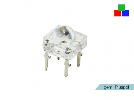LED Superflux RGB 4-Pin gemeinsamer Pluspol