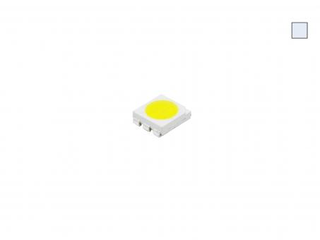 SMD LED PLCC6 kaltweiß 3-CHIP 5060 ca. 15 Lumen