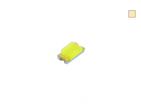 LED SMD 0805 warmweiß ultrahell 380mcd max. 120°