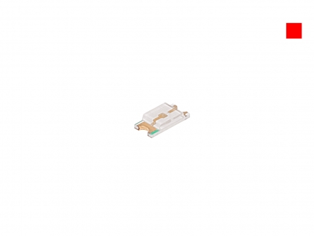LED SMD 0805 rot ultrahell 200mcd max. 120°