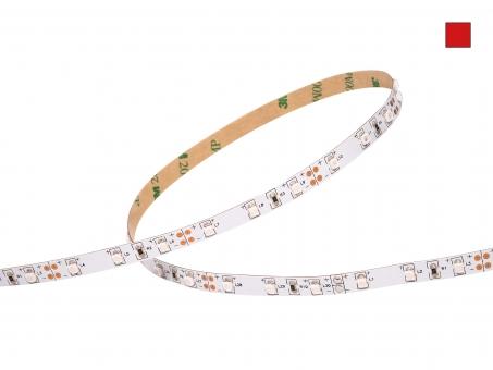 LED Stripe rot 12Vdc 4W/m 120lm/m 60LEDs/m 5,0m