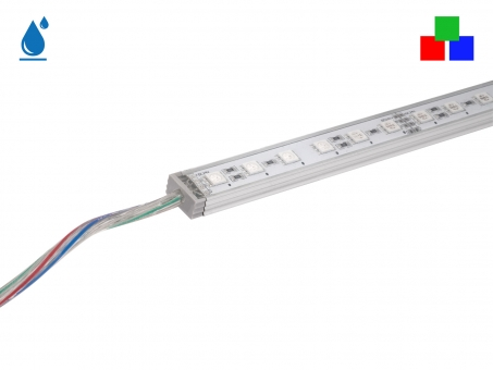 1m LED Leiste RGB 24Vdc 16W 330lm 72LEDs IP65