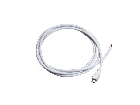 1,5m Mikro USB-Kabel weiß für 5Vdc LED Stripes