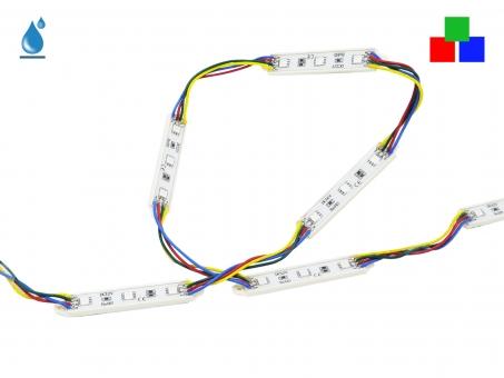 LED Modul RGB+ 12Vdc 0,8W 15lm 3LEDs IP65