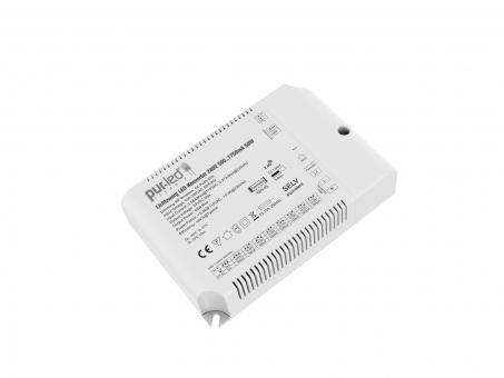 Lichtzwerg LED-Konverter 240V 500..1750mA 50W 10-52Vdc Funk, PUSH