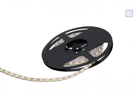 LED Stripe kaltweiß 12Vdc 15W/m 430lm/m 72LEDs/m Single Cut 5,0m