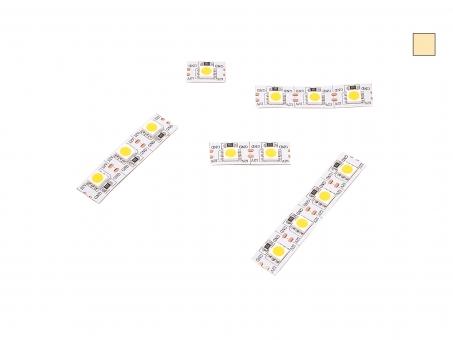 14mm LED Stripe warmweiß 12Vdc 15W/m 430lm/m 72LEDs/m Single Cut
