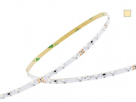 1m LED Stripe warmweiß 12Vdc 6,6W/m 500lm/m 60LEDs/m 1C Sideview