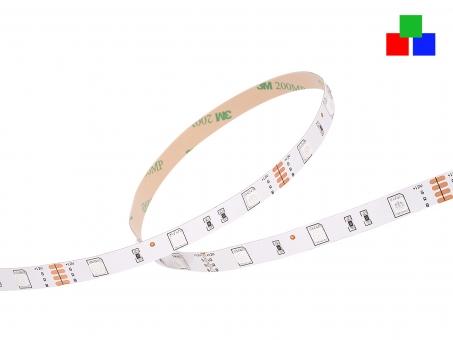 LED Stripe RGB 12Vdc 6W/m 120lm/m 30LEDs/m 3,0m 3,0m