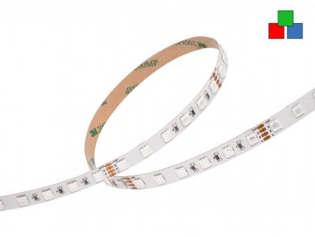 LED Stripe RGB 24Vdc 11W/m 500lm/m 60LEDs/m 15,0m